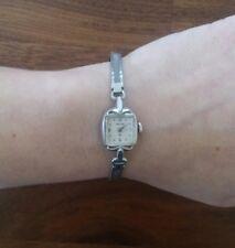 Hamilton 10k RGP Bezel Stainless Back Women's Watch Engraved 1965
