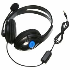 For Sony PS4 PC Wired Gaming Game Headset Headphone Earphone with Microphone Mic