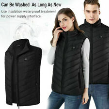 Colete aquecido Corpo Quente aquecimento USB Elétrico Casaco Jaqueta De Inverno Roupas Masculino Feminino