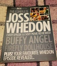 The Complete Joss Whedon Special Sfx Magazine Buffy Angel Dollhouse Firefly Ed.