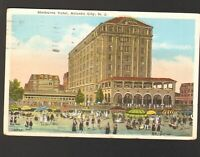 1922 Postmarked Postcard Shelburne Hotel Atlantic City New Jersey NJ