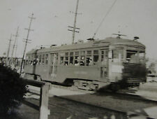 USA344 - PACIFIC ELECTRIC (Red Car) RAILWAY - TROLLEY PHOTO California USA