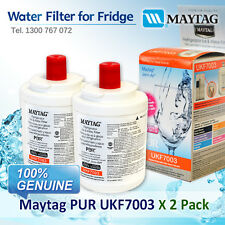 2XMaytag PUR UKF7003 Fridge Water Filter UKF7003AXX 100% GENUINE BRAND AU POST