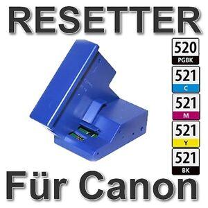 CHIP RESETTER für CANON PIXMA IP3600 MP550 MP560 MP620 MP630 MP640 PGI520 CLI521