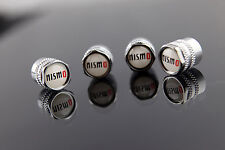 NISMO DECAL WHEELS VALVE STEM CAP NISSAN R32/R33/R34/R35/GTR/SKYLINE/RB25/RB26~