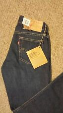 NEW Levis 519 Extreme Low Rise Red Tab  29 M Jeans Boot Cut Slim Fit $115