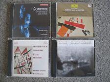 Lot 4 CDs Kremer plays Schnittke Lento Complete Wor Shostakovich Piano Quintets