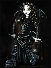 Myka Jelina Gothic Fairy Sticker Decal Killing Time Blk