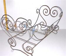 50/60s italy vintage metal bed - lettino per bambola in ferro battuto