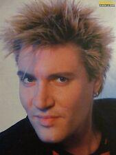 Simon Le Bon, Duran Duran, Full Page Vintage Pinup