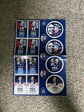 """Folded Sheet Of Stickers """"vote Nov4 Onama/Biden"""
