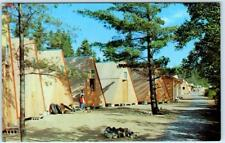 SPECULATOR, New York  NY   Lake Pleasant CAMP OF THE WOODS Tents  Postcard