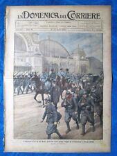 La Domenica del Corriere 18 aprile 1920 Francoforte - Londra - Popa, India
