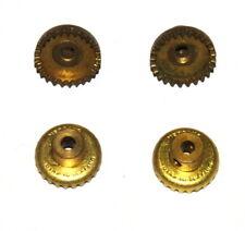 Four Meccano Part 29 Contrate Gear 25 Teeth Original