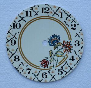 5.1.3cm 140mm Floral Tarjeta Reloj Esfera Auto Sdhesive