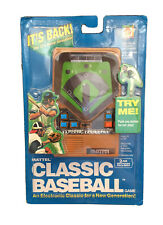Mattel Classic Baseball Handheld Electronic Game 2002 BRAND NEW SEALED