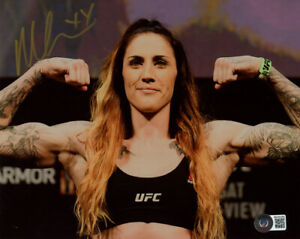 MEGAN ANDERSON SIGNED AUTOGRAPHED 8x10 PHOTO MMA UFC CHAMPION BECKETT BAS