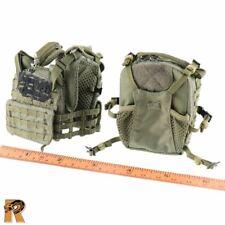 Israeli Sayeret Matkal - Vest & Backpack Set - 1/6 Scale Flagset Action Figures