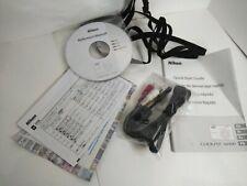 Nikon Coolpix S6300 Windows/Macintosh Reference Manual CD Rom, manual, strap ect