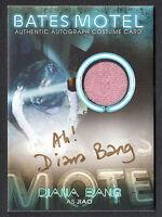 BATES MOTEL SEASON 1 Breygent 2015 AUTOGRAPH COSTUME CARD #BC9 DIANA #60/65