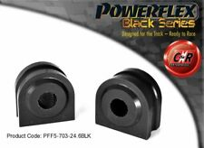 BMW 7 Series 01-08 Powerflex Black Front ARB Mounts 24.6mm PFF5-703-24.6BLK