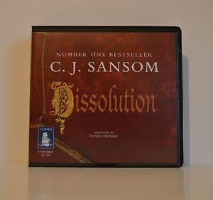 C. J. Sansom: Dissolution - Unabridged Audio Book - 12CDs