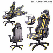 Office Chair Racing Style Gaming Chair Great Comfort & Support High Backrest