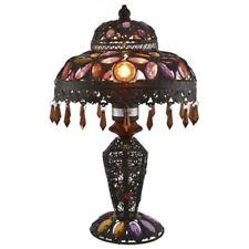 Lampe de table multicolore en bronze pour la maison