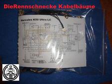 farbigem Schaltplan Puch Cobra GTL50 Kabelbaum Kabelstrang Nachbau incl