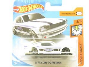 Hot Wheels 65 MUSTANG 2+2 Fastback Músculo Mania 72 Corta Tarjeta 1 64 Escala