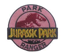 "Jurassic Park Ranger Patch Badge 8.6x9.3 cm 3.5""x3.6"""