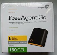Seagate FreeAgent Go 160GB External 5400RPM (ST901603FGE1E1-RK) HDD