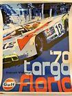 AWESOME 70 Porsche Posters Gulf Targa Florio