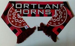 NEW w/TAG Portland Thorns FC Split Logo Lightweight Summer Scarf
