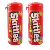 2x Skittles Original Candy Chewy Mix Fruit Flavored Pocket Pack 30g. (1 oz)