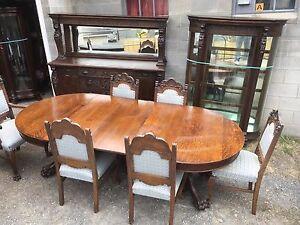 Victorian Antique Dining Sets 1800 1899 For Sale Ebay