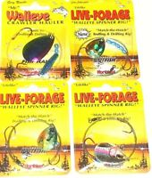 Northland Tackle Live Forage Crawler Spinners (Lot of 4-TS6)