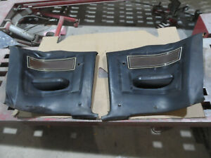1969 1970 Mercury Cougar ELIMINATOR Rear Seat Panels Quarter Trim Pair BLACK