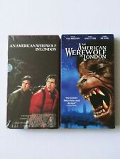 An American Werewolf in London Vestron 1985 & Universal 2001 (Vhs) Alter. Covers