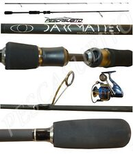 kit canna dark matter 2.10m 1/5g mulinello spinning trout game rockfishing trota