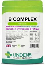 Vitamin B Complex (all nine B vitamins); Quality - 100 tablets