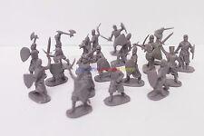New Caesar 1/72 European Medieval Knights Crusaders Figures (18pcs Diff. Poses)