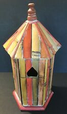 Vintage Bird House_Bamboo Birdhouse_Feeder_Decorati ve_Indoor Outdoor