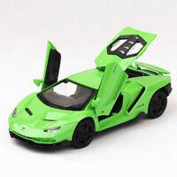 Lamborghini Centenario LP770-4 1/32 Scale Diecast Model Car Toy Vehicle Green