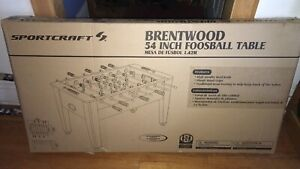 Brentwood 54 Inch Arcade Foosball Soccer Table