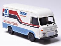 H0 BREKINA AVIA Saviem A 30 Skoda Motokov CSSR rally team Tschechien # 14633