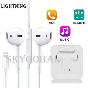 Genuine Wired Lightning Earphones Headphones For iPhone 12 11 Pro SE X XR 8 7+