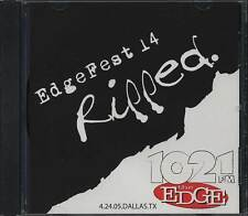 Billy Idol, Sum 41 etc. - Edgefest 14 LIVE CD Lmt Ed 1,000 #'ered Sold Out - New