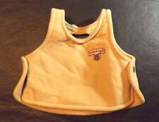 1985/86 Teddy Ruxpin Vest Shirt Brown With Original Logo On The Front Preowned