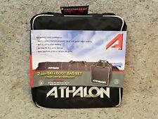 Athalon 2 Piece Snow Ski & Boot Bag Set in Black - New Style 124